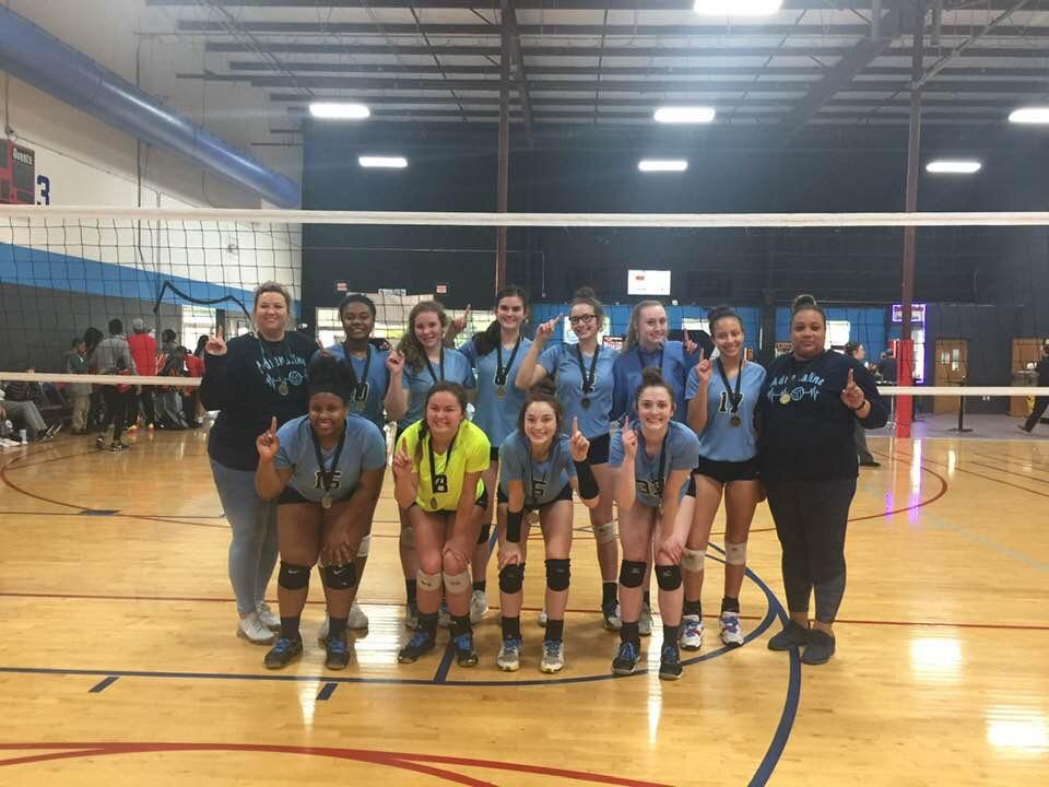 Georgia Adrenaline Volleyball Club, Team 18-Lisa during the 2019 season