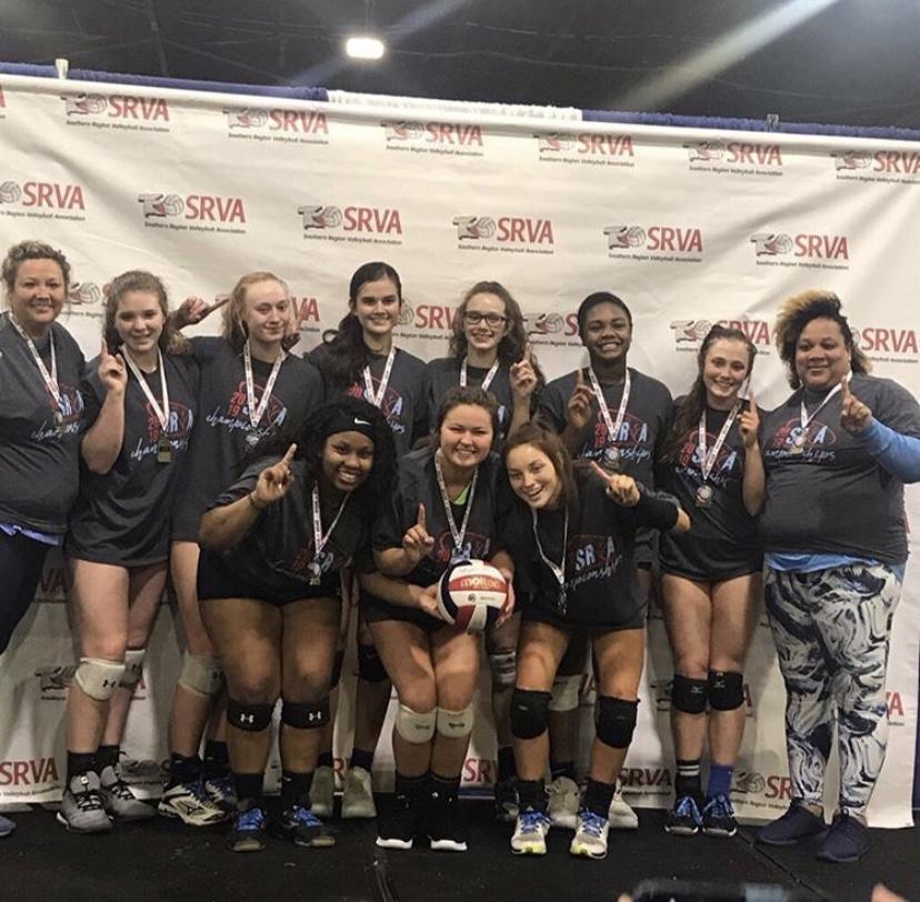 Georgia Adrenaline Volleyball Club, Team 18-Lisa, SRVA Regional Champions 2019