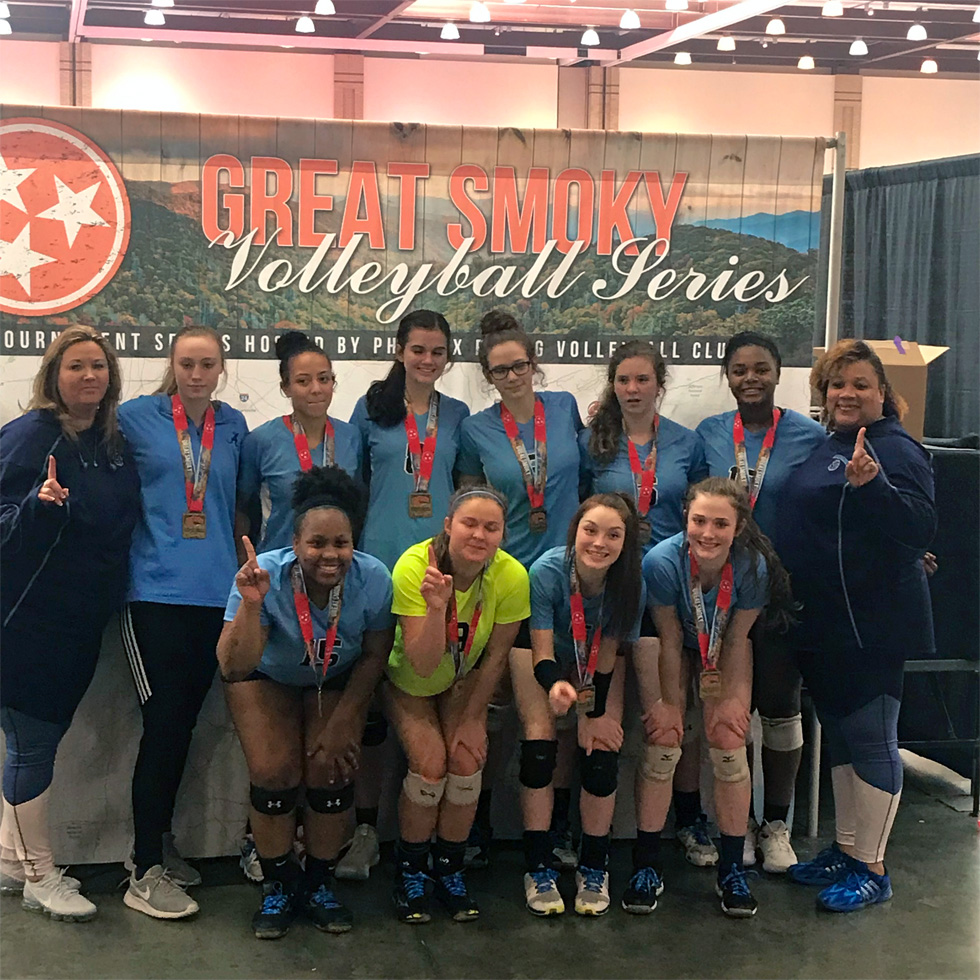 Georgia Adrenaline Volleyball Club, Team 18-Lisa 2019