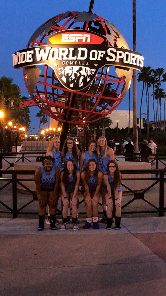 Georgia Adrenaline Volleyball Club, Team 18-Lisa at AAU Nationals in 2018