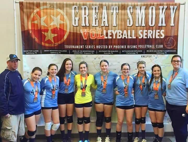 Georgia Adrenaline Volleyball Club, Team 14-1