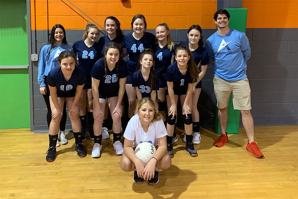 Georgia Adrenaline Volleyball Club, team 14-Alexis in Canton, GA during the 2021 club volleyball season