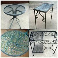 {DIY} Mosaic Tables | georgia & daughter