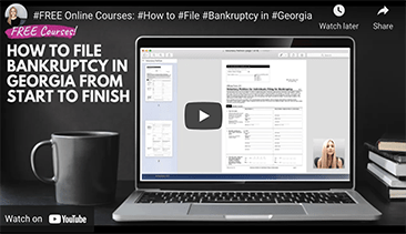 how to file bankruptcy georgia course