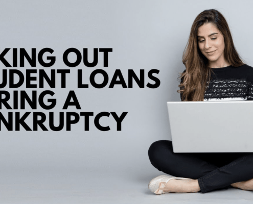 taking out student loan bankruptcy georgia