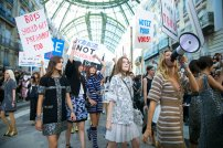 "Chanel's Controversial ""Protest"" Fashion Show"
