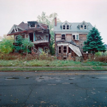 Abandoned Homes in Detroit