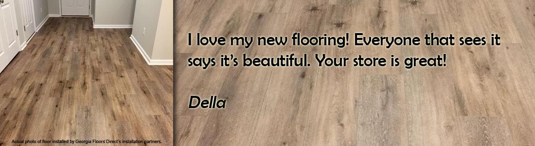 laminate flooring testimonial