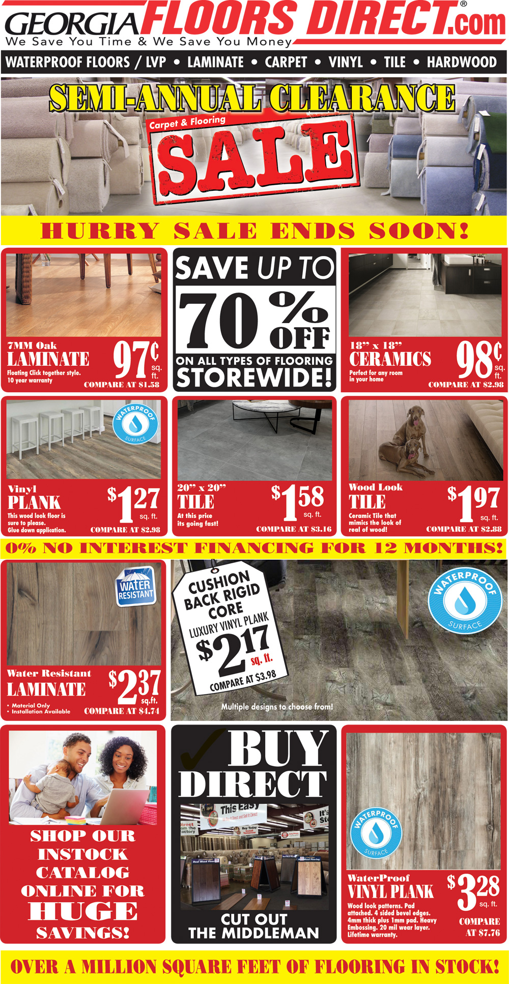 Specials at our Tallahassee store