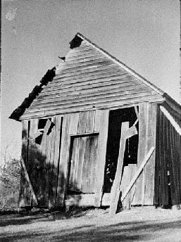 Photograph of Carruth Mill, Madison County, Georgia, 1978