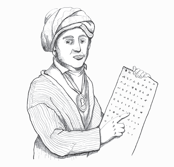 Sequoyah Coloring Page