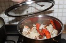 steamy crab