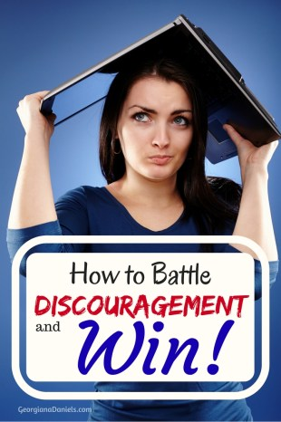 Are you worn out by rejections and other complications in your life? I've been there! Here are 5 steps to help you fight discouragement too.