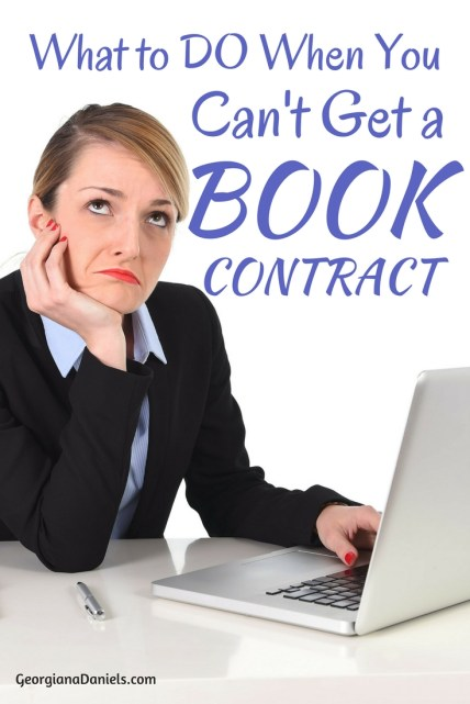 When you can't get a book contract no matter what you do, it can feel like your guts are getting ripped out through your nose! Fortunately, there are ways to share the stories of your heart without a book contract. Here's how!