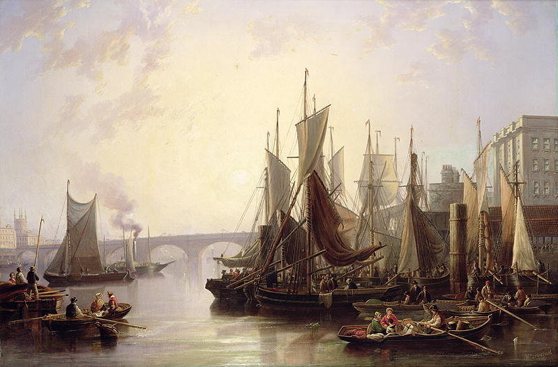 The Port of London in the 18th Century  All Things Georgian