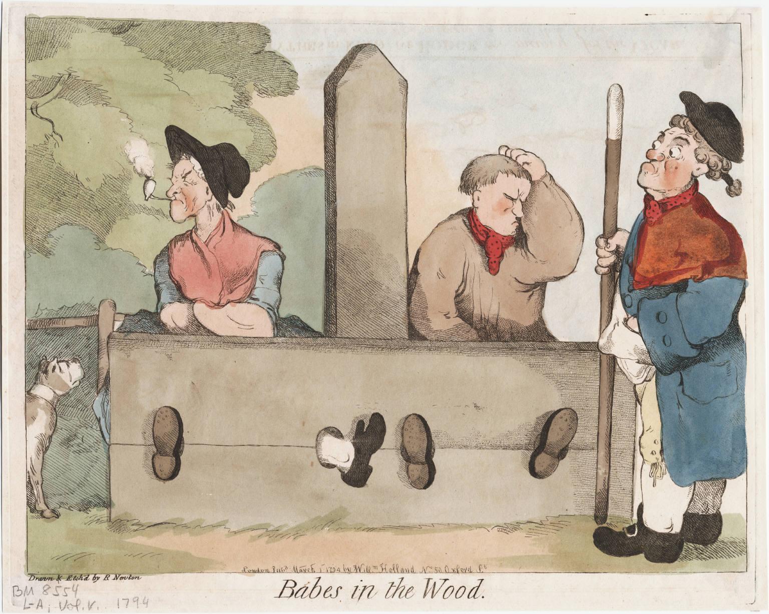 18th century crime and punishment