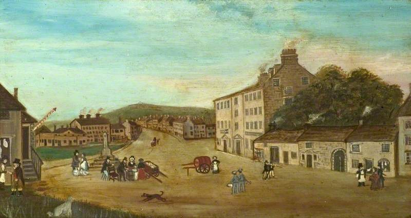'Taking the waters' at Buxton in 1800