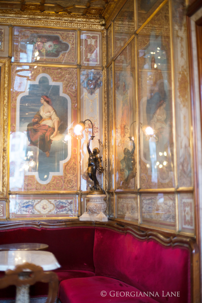 Venice Tea at Caffe Florian