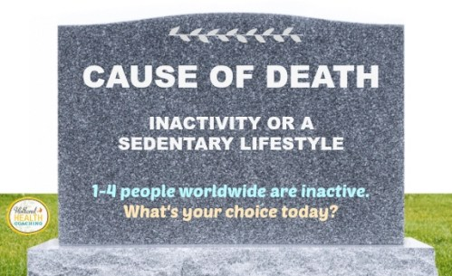 inactivity as a lifestyle