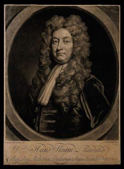 Sir Hans Sloane, c. 1729, by J. Faber
