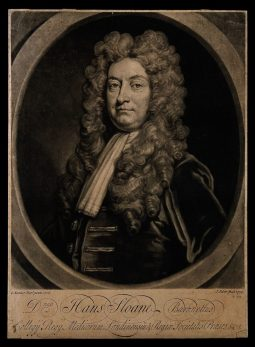 Sir Hans Sloane, c. 1729, by J. Faber