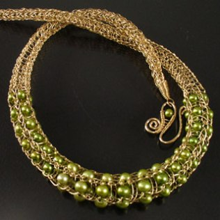 Jan Ra Jewelry Design ~ viking knit necklace2