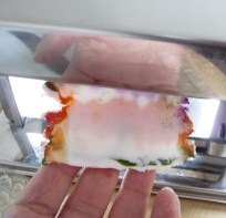Polymer Clay faux Mokume-Gane (10)