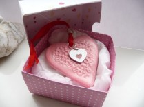 Valentine hanging Pink Heart