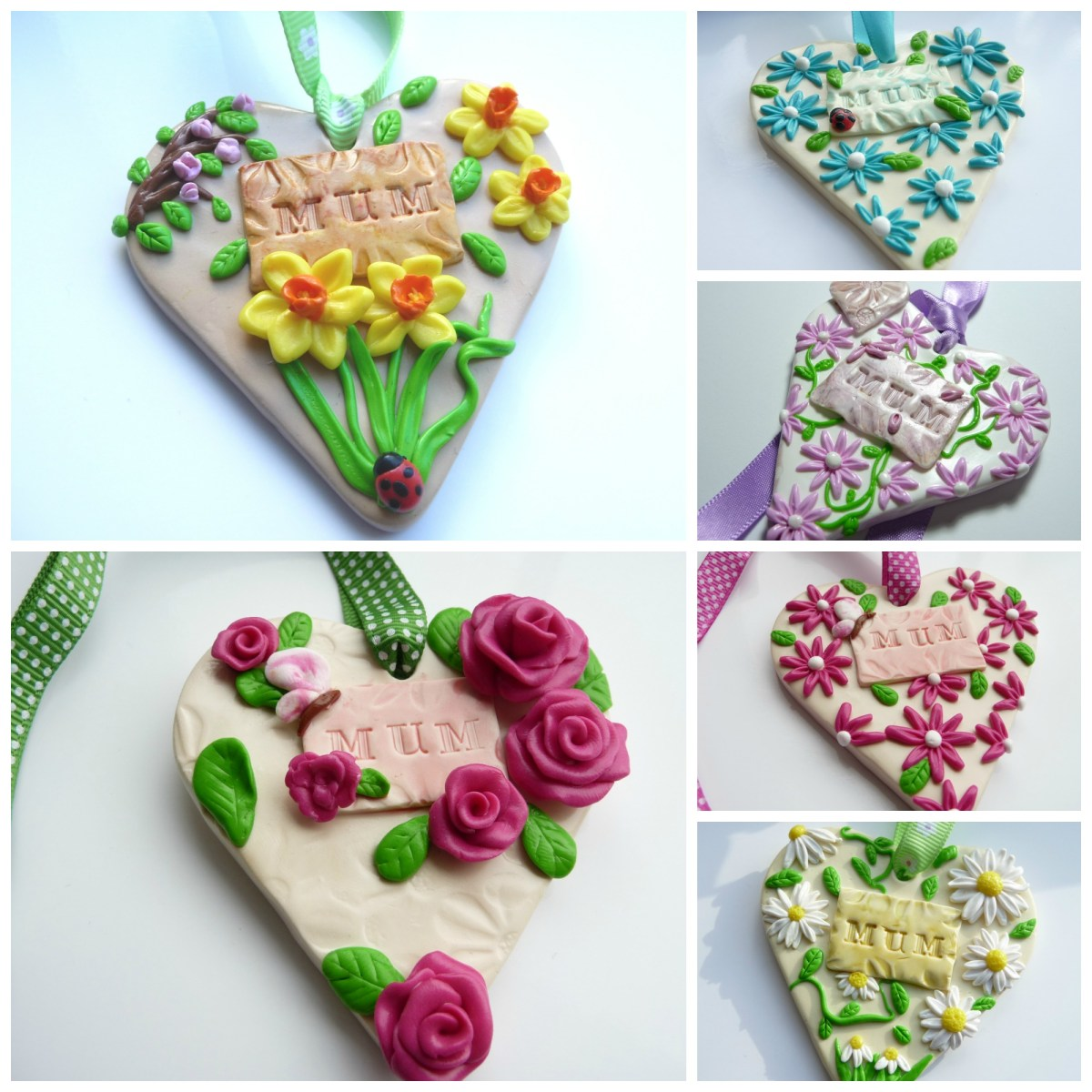 Polymer Clay Mothers Day Gifts By Georgia P Designs