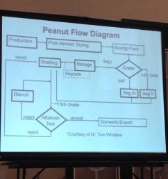 peanut flow diagram provided by birdsong peanuts [ 1536 x 1536 Pixel ]