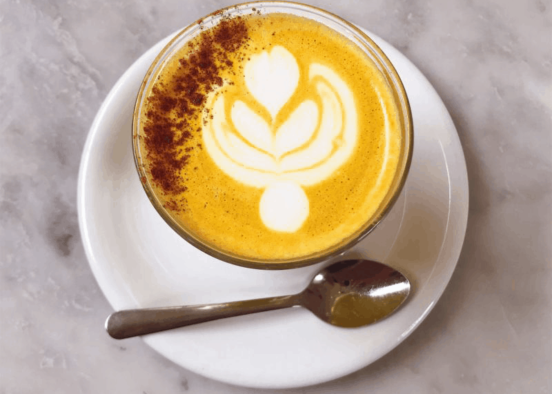 Image result for turmeric latte