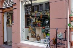 Art ware shop off the square.