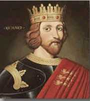 Richard I, which seems like it might be a good likeness based on his tomb effigy.
