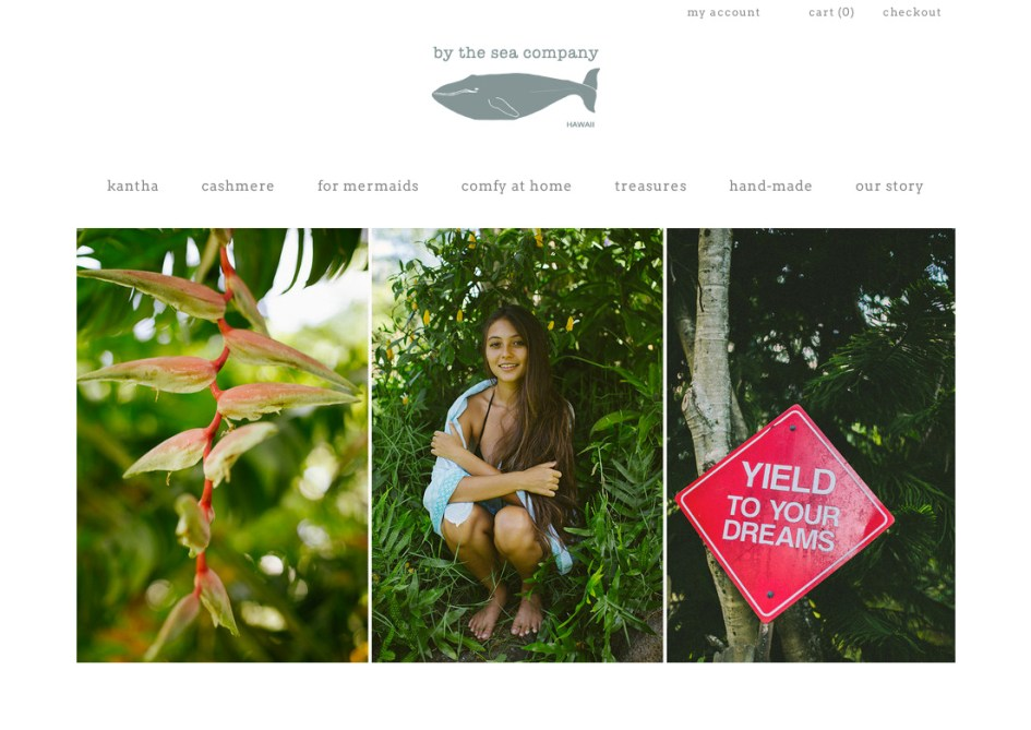 by the sea landing page screeen grab 1c