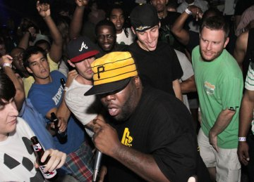 Submitted Photo Fans enjoy the up close and personal experience that the A3C Festival provides.