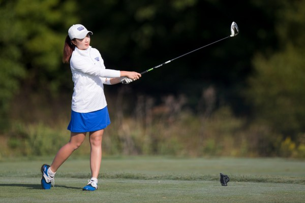 Joeeum Bae, junior, once placed 41st out 95 during a tournament. Now, she aims to beat that ranking.  Submitted by Georgia State Athletics