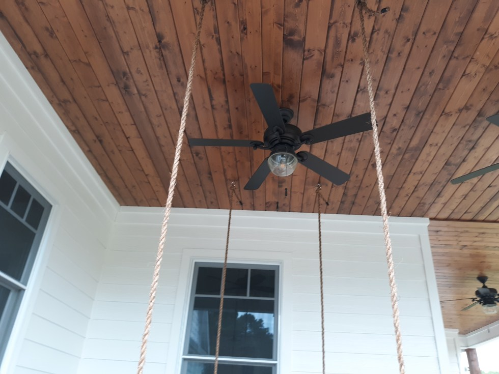 Porch and Bed Swing Installation
