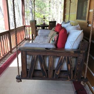 Hanging Porch Bed Swing
