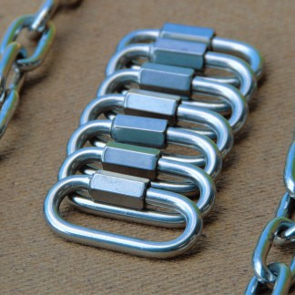 Stainless steel swing chain kit
