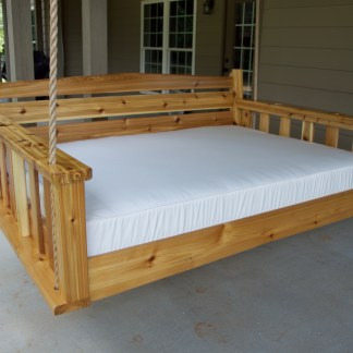 The Buckhead Bed Swing | Cedar Porch Bed Swing
