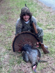 Turkey harvested at Paulding Forest WMA.
