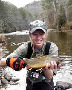 Chattooga brook trout