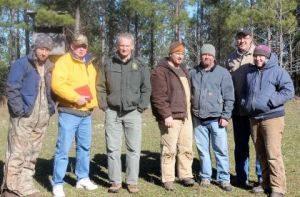 Volunteers with the club built a blind and kept a bait pile stocked with road-killed deer. The work paid off Feb. 15, 2015, when researchers trapped a 5-year-old golden eagle, the first one caught in Georgia for the project.