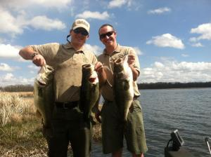 Bass sampled from Lake Seminole recently.