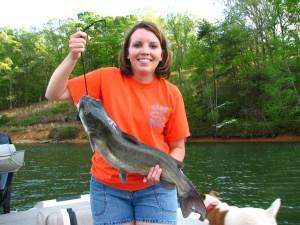 Lake Lanier catfish