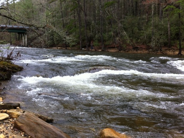Chattooga BF hi water 12-27-15