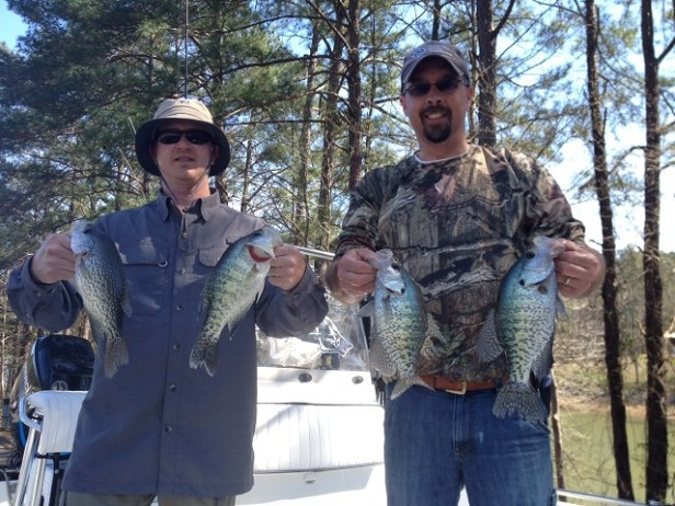 crappie toona Jim and Mark 3-17-16