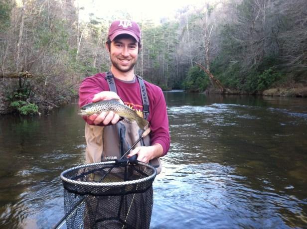 trout bnt Tex caddis skitter tooga dh 3-15-15