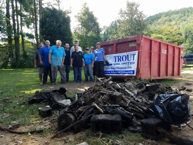 TU Blueridge Toccoa Cleanup Aug 2017