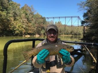 trout bnt Hooch TW sampling 10-12-17